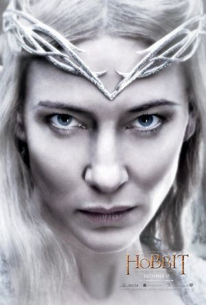 Galadriel poster - The Hobbit: The Battle of the Five Armies