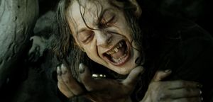 Nasty young gollum in Return of the King