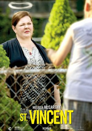 Melissa McCarthy as Maggie character poster for St. Vincent