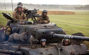 Fury in the tank