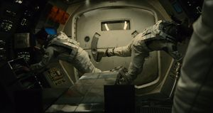 Gravity in Interstellar spaceship