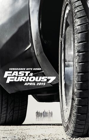 Vengeance Hits Home in New Poster for 'Fast & Furious 7'