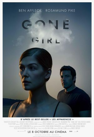 French Gone Girl poster with Rosamund Pike and Ben Affleck