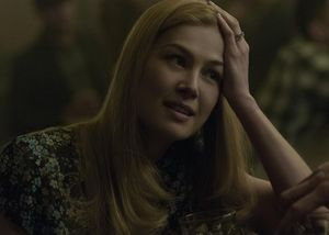 Rosamund Pike as the missing 'Amazing Amy' in Gone Girl