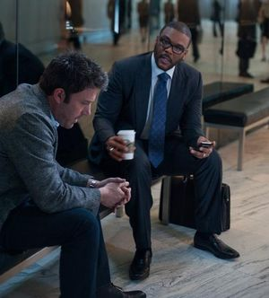 Ben Affleck and Tyler Perry in Gone Girl