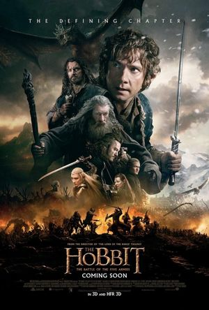 International Poster for The Hobbit: The Battle of Five Armi
