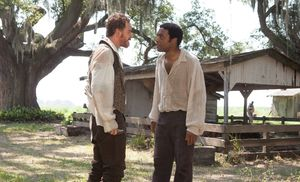 Edwin Epps and Solomon Northup having an argument in 12 Year
