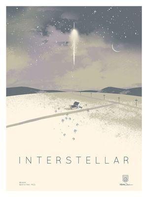 Custom Designed IMAX Poster for Interstellar
