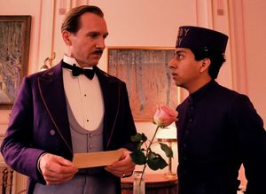 M. Gustave unimpressed by Zero - The Grand Budapest Hotel