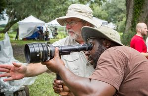 Steve McQueen working on 12 Years A Slave