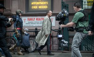 Behind the scenes of Birdman