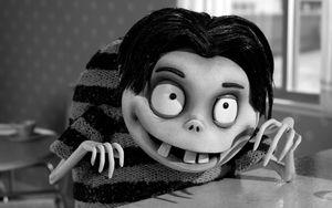Creepy kid in Frankenweenie