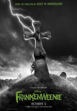 Tim Burton's Frankenweenie poster