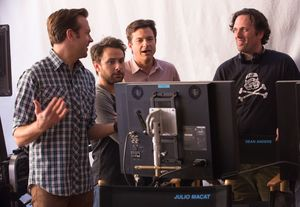 Director Sean Anders and the cast of Horrible Bosses 2