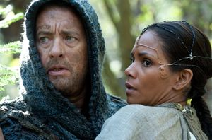 Tom Hanks and Halle Berry together in Cloud Atlas