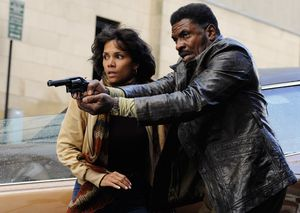 Halle Berry and Keith David ready to shoot in Cloud Atlas