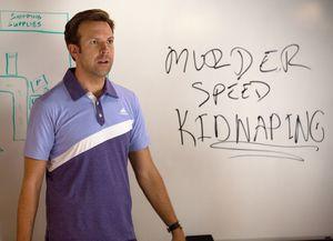 Murder, speed, kidnaping - Jason Sudeikis having a plan in H