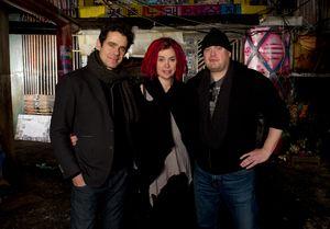 Tom Tykwer, Lana Wachowski and Andy Wachowski - directors of