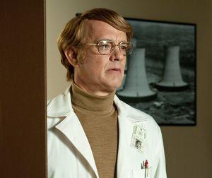 Tom Hanks as blond Doctor Isaac Sachs - Cloud Atlas