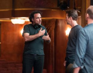 Alejandro González Iñárritu and Edward Norton discuss a s