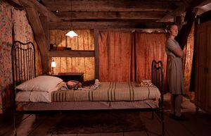 Saoirse Ronan in her small cabin - The Grand Budapest Hotel