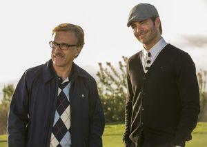 Christoph Waltz and Chris Pine in Horrible Bosses 2