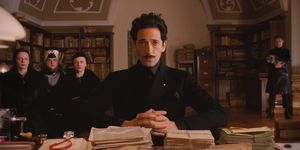 Adrien Brody as Dmitri in The Grand Budapest Hotel