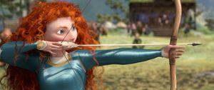 Merida aims, Brave