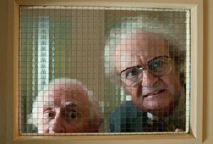 Jim Broadbent locked up in retirement home - Cloud Atlas