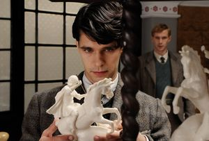 Ben Whishaw and James D'Arcy in Cloud Atlas