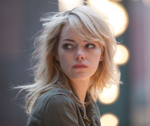 Emma Stone as blond Sam in Birdman