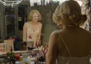 Naomi Watts and a bloody mirror in Birdman