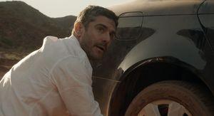 Leonardo Sbaraglia and his expensive car in Wild Tales