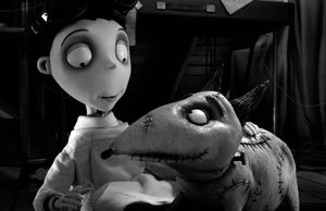 Victor and his dog Sparky - Frankenweenie