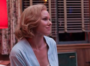 Naomi Watts somewhat smiling in Birdman