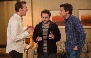 Jason Sudeikis, Charlie Day and Jason Bateman disagree about