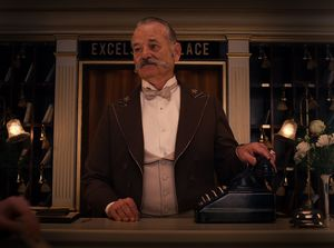 Bill Murray as M. Ivan - The Grand Budapest Hotel