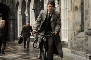 Ben Whishaw cycles in Cloud Atlas