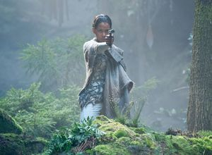 Halle Berry ready to shoot as Meronym in Cloud Atlas