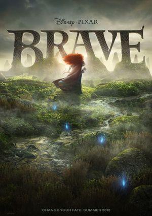 Disney Pixar Brave poster - Change Your Fate. Summer 2012