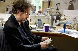 Tim Burton behind the scenes - Frankenweenie