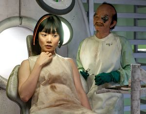 Doona Bae and scary asian guy - Cloud Atlas