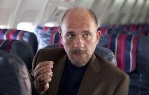 On a plane in Wild Tales