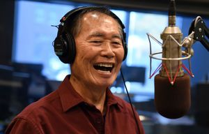 George Takei on Howard Stern