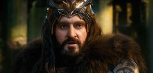Thorin Oakenshield close-up in The Battle of the Five Armies