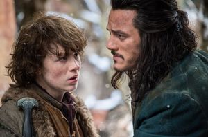 Bard and a kid - The Battle of the Five Armies