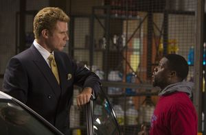 Will Ferrell and Kevin Hart length difference - Get Hard