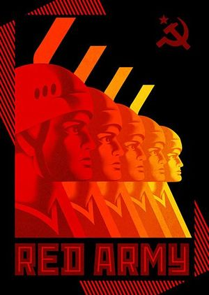 Red Army documentary poster