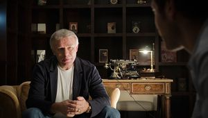 Slava Fetisov interviewed in the documentary Red Army