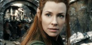 Evangeline Lilly as Tauriel close-up - The Battle of the Fiv